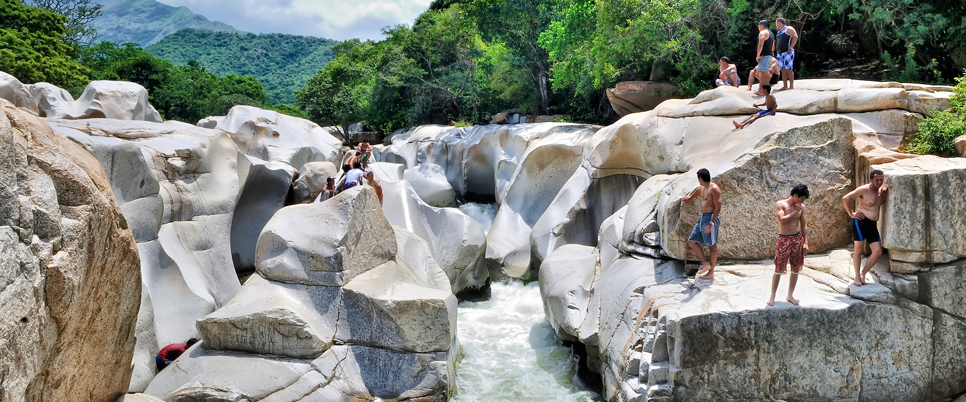 rio badillo la mina